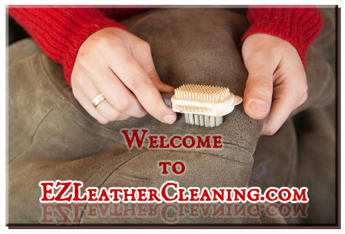 leather cleaning image
