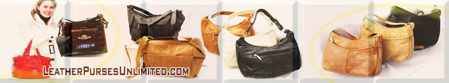 leather purse header