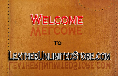 leather store banner